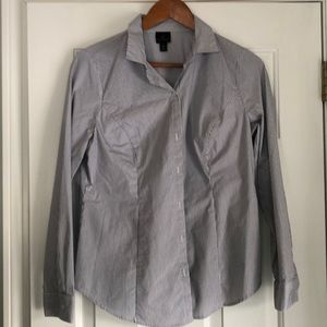 Button down fitted dress shirt.  Size 10